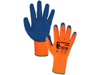 Gloves INDUSTRY ROXY WINTER, winter, coating latex, size 10