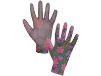 Gloves CXS LEIVA, coated by polyester