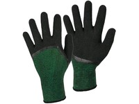 Gloves CXS OLAS, dipped in latex foam