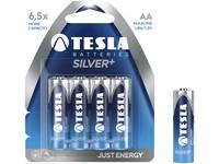 Baterie TESLA AA Silver+, tužková, 4ks