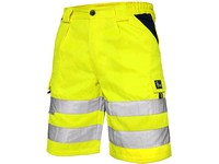 Men ́s high visible shorts NORWICH, yellow