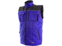 Pánská zimní vesta SEATLE, modro-černá