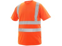 High visible T-shirt LIVERPOOL, men´s, orange