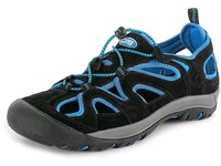Sandals NAMIB, black - blue