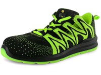 Low footwear CXS TEXLINE OLIB S1P ESD, black-green