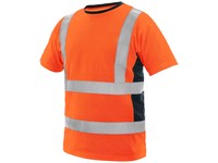 High visible T-shirt  EXETER, men's, orange