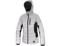 Ladies ́ jacket SHINE, winter, silver-black