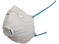 Particulate respirator SPIRO P2, moulded with valve