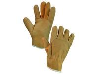 Kožené rukavice MEKA, vel. 09