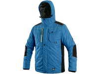 Jacket CXS BALTIMORE, men´s, medium blue - black