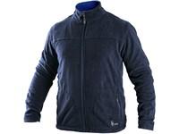Mikina GRANBY, pánská, fleece, tmavě modrá