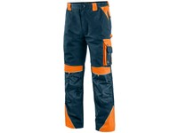 Working trousers SIRIUS NIKOLAS, men´s, blue-orange