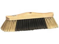 Brush on stick, wooden, 30 cm