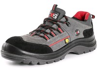 Low footwear CXS ROCK ESD GRAPHITE S1P, grey-black