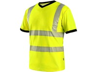T-shirt CXS RIPON, high visible, yellow-black