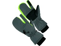 Gloves winter CXS FRIGG, 3-finger, grey-green