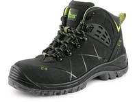 Ankle footwear CXS Universe Meteor S3, black - green