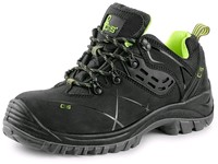 Low footwear CXS Universe Comet S3 black-green