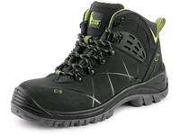 Ankle footwear CXS Universe  METEOR O2, black-green