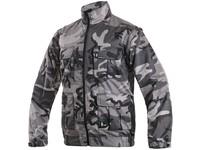 Jacket CXS VENATOR, men's, black-gray (camouflage)