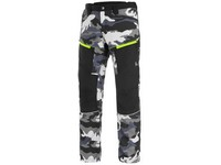 Trousers CXS DIXON, men's, grey-white (camo)