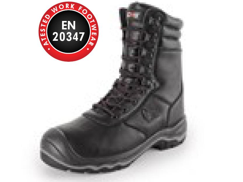 Poloholeňová obuv ROCK ONYX O2
