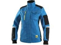 Jacket CXS STRETCH, ladies´, bright blue-black