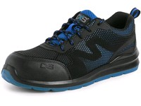 Low footwear CXS ISLAND MILOS S1P, black-blue