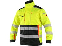 Jacket CXS BENSON high visible, men´s, yellow-black
