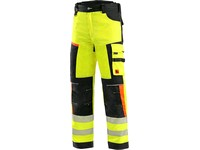Trousers CXS BENSON high visible, men´s, yellow-black