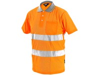 High visible poloshirt DOVER, men´s, orange