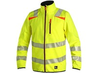 Jacket CXS HOVE, high visible, yellow