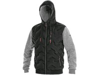 Jacket CXS FLINT, men´s, black-grey