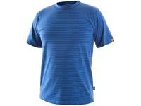 Tričko ESD CXS NOME, antistatické, středně modré