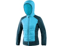 Jacket CXS MERIDEN, children, atol blue