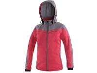 Jacket CXS MONROE, Children´s, pink-gray