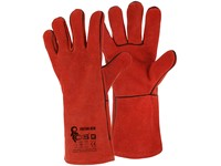 Gloves CXS PATON RED, weilding, red
