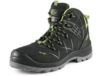 Ankle footwear CXS Universe Satellite S3, winter, black-green