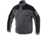 Jacket ORION OTAKAR, winter, men´s, grey-black