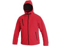 Pánská softshell bunda NASHVILLE, červená