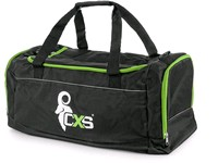 Sport bag CXS, black - green, 60x30x30 cm