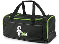 Sport bag CXS, black - green, 75x37,5x37,5 cm