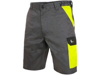 Men ́s working shorts PHOENIX ZEFYROS, grey-yellow