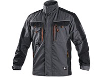 Jacket SIRIUS LUCIUS, men´s, grey-orange