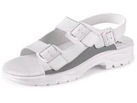 Obuv sandál CXS PAOLA, s páskem, bílý