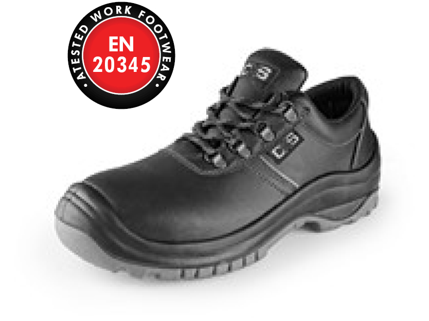 Low footwear CXS SAFETY STEEL VANAD S3, black