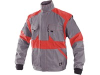 Jacket CXS LUXY EDA, men´s, grey-red