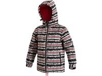 Dětská zimní bunda MELON, černo-červená