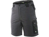 Men ́s  working  shorts SIRIUS ELIAS, grey-green