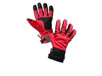 Zimní rukavice CXS TUNA, červeno-šedé, vel. 10